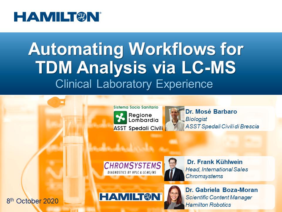 Webinar LC-MS TDM